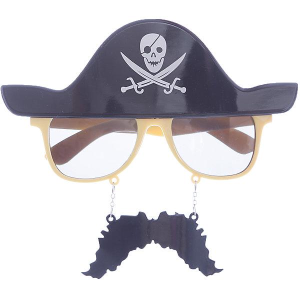 Карнавальные очки Пират из пластика