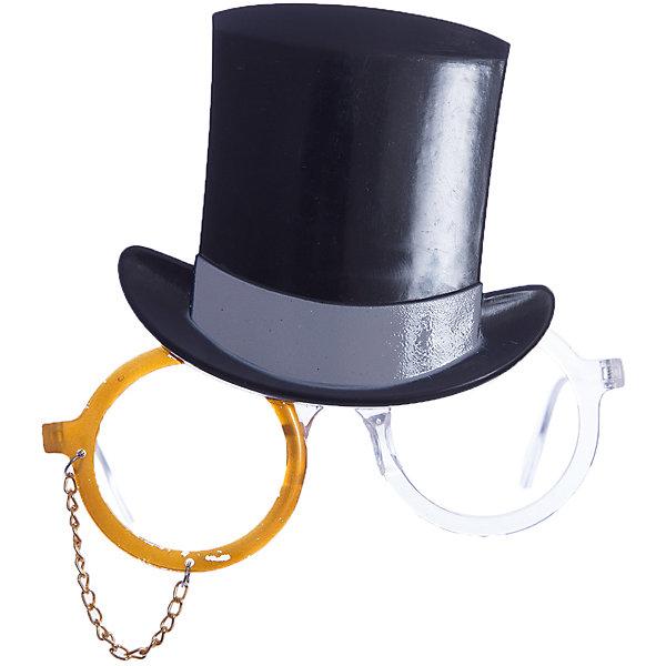 Карнавальные очки Цилиндр из пластикаДетские карнавальные маски<br><br><br>Ширина мм: 140<br>Глубина мм: 150<br>Высота мм: 30<br>Вес г: 46<br>Возраст от месяцев: 24<br>Возраст до месяцев: 2147483647<br>Пол: Унисекс<br>Возраст: Детский<br>SKU: 7128995