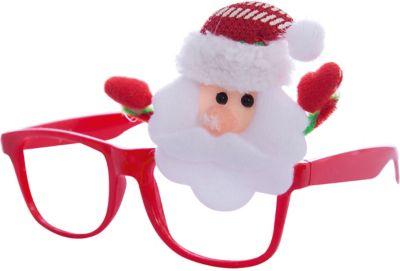Magic Time Новогодние очки Дед Мороз из полипропилена с декором из нетканого материала