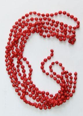 Magic Time Новогодняя гирлянда Красный маскарад из полистирола, 76088