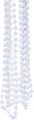 Magic Time Новогодняя гирлянда Серебряный маскарад из полистирола, 76090