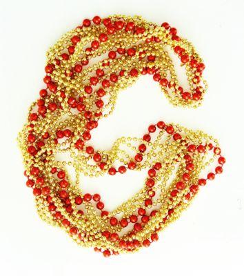 Magic Time Новогодняя гирлянда Красно-золотая из полистирола, 76099