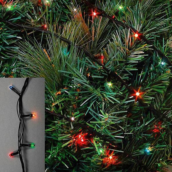 Новогодняя электрическая гирлянда 100 лампочек ( мощность 12 Вт напряжение 220 В, 76249Новинки Новый Год<br><br>Ширина мм: 100; Глубина мм: 50; Высота мм: 70; Вес г: 98; Возраст от месяцев: 24; Возраст до месяцев: 2147483647; Пол: Унисекс; Возраст: Детский; SKU: 7129069;