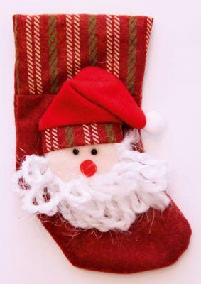 Magic Time Украшение новогоднее подвесное Дед Мороз в Колпаке арт.42534 из полиэстра