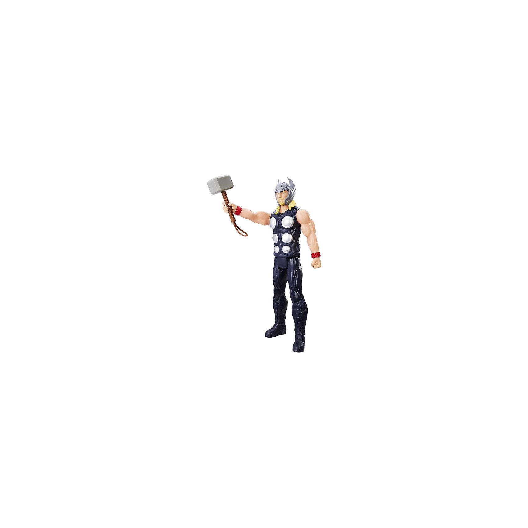 Фигурка Мстители Hasbro Титаны, ТорЛюбимые герои<br>Характеристики:<br><br>• фигурка героя из цикла мультфильмов Мстители для мальчиков;<br>• руки и ноги подвижны;<br>• голова поворачивается;<br>• имеются точки артикуляции;<br>• герой может принимать различные позы;<br>• игрушка изготовлена из прочтного пластика;<br>• в комплекте оружие;<br>• высота Титана: 30 см;<br>• размер упаковки: 30,5х10,5х5,5 см.<br><br>Фигурку Титаны, Мстители Hasbro хасбро можно купить в нашем интернет-магазине.<br><br>Ширина мм: 306<br>Глубина мм: 104<br>Высота мм: 55<br>Вес г: 258<br>Возраст от месяцев: 48<br>Возраст до месяцев: 96<br>Пол: Мужской<br>Возраст: Детский<br>SKU: 7129380