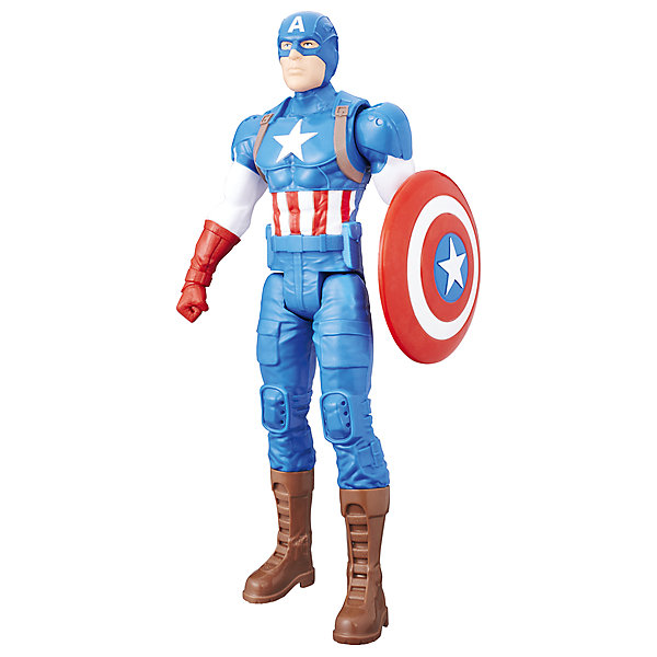 Фигурка Мстители Hasbro Титаны, Капитан АмерикаФигурки из мультфильмов<br>Характеристики:<br><br>• фигурка героя из цикла мультфильмов Мстители для мальчиков;<br>• руки и ноги подвижны;<br>• голова поворачивается;<br>• имеются точки артикуляции;<br>• герой может принимать различные позы;<br>• игрушка изготовлена из прочтного пластика;<br>• в комплекте оружие;<br>• высота Титана: 30 см;<br>• размер упаковки: 30,5х10,5х5,5 см.<br><br>Фигурку Титаны, Мстители Hasbro хасбро можно купить в нашем интернет-магазине.<br><br>Ширина мм: 306<br>Глубина мм: 104<br>Высота мм: 55<br>Вес г: 258<br>Возраст от месяцев: 48<br>Возраст до месяцев: 96<br>Пол: Мужской<br>Возраст: Детский<br>SKU: 7129381