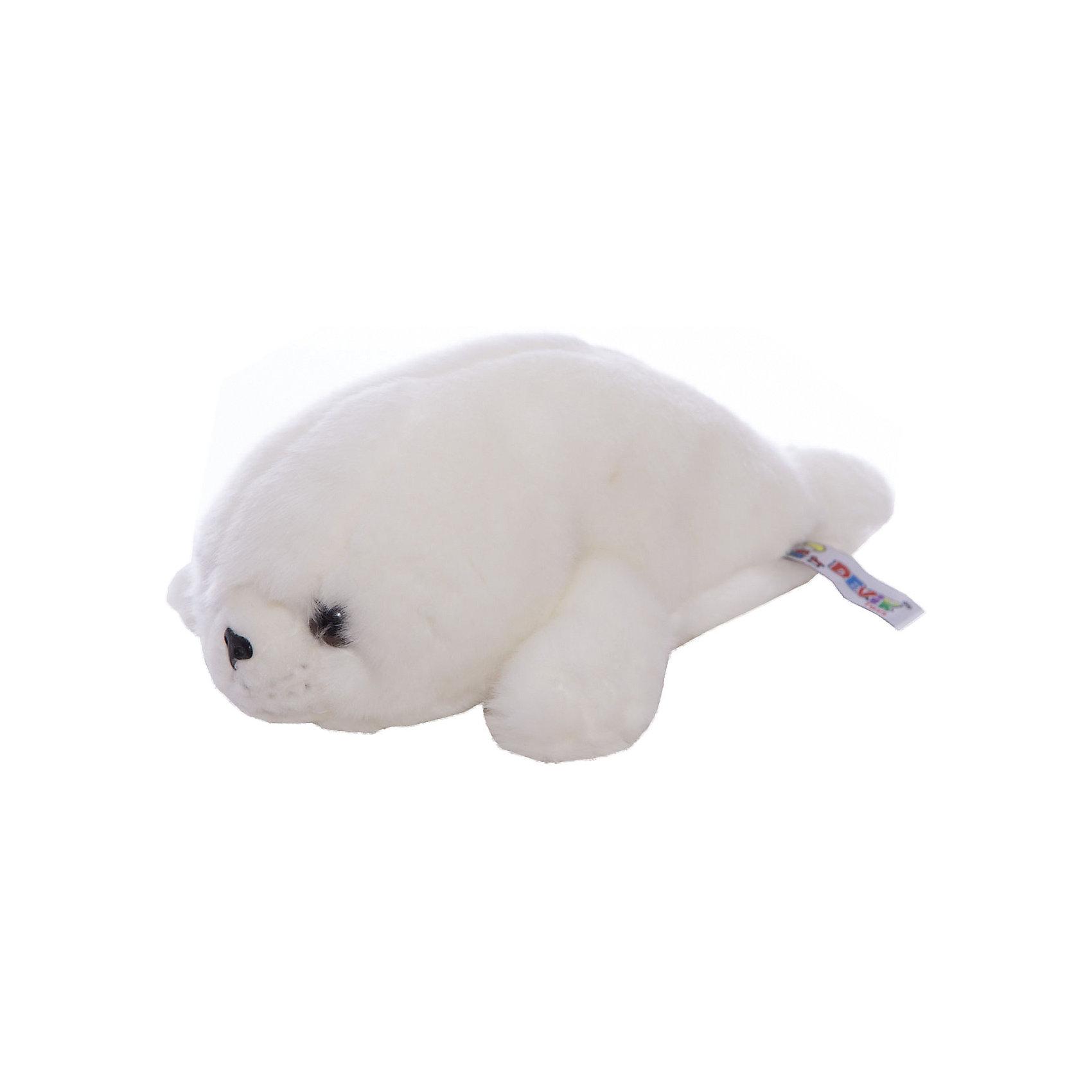 Мягкая игрушка Devik Toys Морской котик, 33 смМягкие игрушки животные<br>Характеристики:<br><br>• возраст: от 3 лет;<br>• материал: искусственный мех, синтепон;<br>• длина игрушки: 33 см;<br>• цвет: белый.<br><br>Белый морской котик стает хорошим подарком к празднику для мальчиков и девочек. Мягкая игрушка изготовлена из гипоаллергенных материалов, абсолютно безопасных для детей. Морской котик обтянут ворсистым плюшем, имитирующим шерсть животного. Глаза сделаны из пластиковых бусин. В качестве наполнителя используется высококачественный синтепон.<br><br>Морской котик может быть героем в ролевых играх, украшением детской комнаты или игрушкой, с которой малыш будет спать в кровати.<br><br>Мягкую игрушку «Морской котик, 33 см», Девилон М можно купить в нашем интернет-магазине.<br><br>Ширина мм: 130<br>Глубина мм: 200<br>Высота мм: 330<br>Вес г: 150<br>Возраст от месяцев: 36<br>Возраст до месяцев: 2147483647<br>Пол: Унисекс<br>Возраст: Детский<br>SKU: 7129562