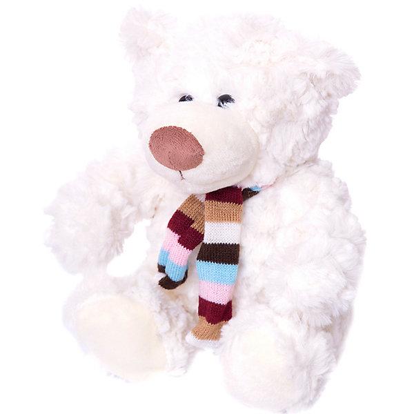 Медведь АлёшаМягкие игрушки животные<br>Характеристики:<br><br>• возраст: от 3 лет;<br>• материал: плюш, синтепон;<br>• длина игрушки: 33 см;<br>• цвет: коричневый.<br><br>Плюшевый медвежонок с вязаным шарфиком станет хорошим подарком к празднику для мальчиков и девочек. Мягкая игрушка изготовлена из гипоаллергенных материалов, абсолютно безопасных для детей. Медвежонок обтянут ворсистым плюшем, имитирующим шерсть животного. Глаза сделаны из пластиковых бусин. В качестве наполнителя используется высококачественный синтепон.<br><br>Медведь Алёша может быть героем в ролевых играх, украшением детской комнаты или игрушкой, с которой малыш будет спать в кровати.<br><br>Мягкую игрушку «Медведь Алёша», Девилон М можно купить в нашем интернет-магазине.<br>Ширина мм: 180; Глубина мм: 240; Высота мм: 310; Вес г: 200; Возраст от месяцев: 36; Возраст до месяцев: 2147483647; Пол: Унисекс; Возраст: Детский; SKU: 7129563;