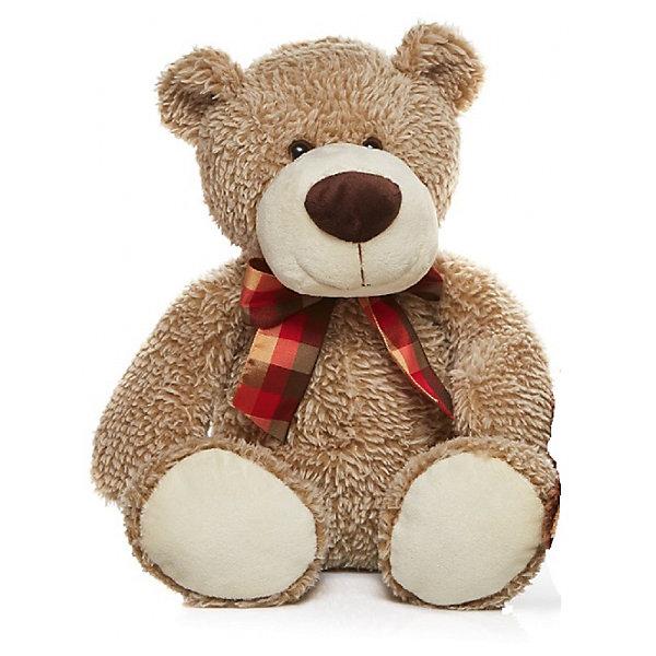 Мягкая игрушка Devilon Медведь Макар, 30 смМягкие игрушки животные<br>Характеристики:<br><br>• возраст: от 3 лет;<br>• материал: плюш, синтепон;<br>• длина игрушки: 30 см;<br>• цвет: бежевый.<br><br>Плюшевый медвежонок с красным бантиком станет хорошим подарком к празднику для мальчиков и девочек. Мягкая игрушка изготовлена из гипоаллергенных материалов, абсолютно безопасных для детей. Медвежонок обтянут ворсистым плюшем, имитирующим шерсть животного. Глаза сделаны из пластиковых бусин. В качестве наполнителя используется высококачественный синтепон.<br><br>Медведь Макар может быть героем в ролевых играх, украшением детской комнаты или игрушкой, с которой малыш будет спать в кровати.<br><br>Мягкую игрушку «Медведь Макар», Девилон М можно купить в нашем интернет-магазине.<br><br>Ширина мм: 200<br>Глубина мм: 260<br>Высота мм: 400<br>Вес г: 250<br>Возраст от месяцев: 36<br>Возраст до месяцев: 2147483647<br>Пол: Унисекс<br>Возраст: Детский<br>SKU: 7129564