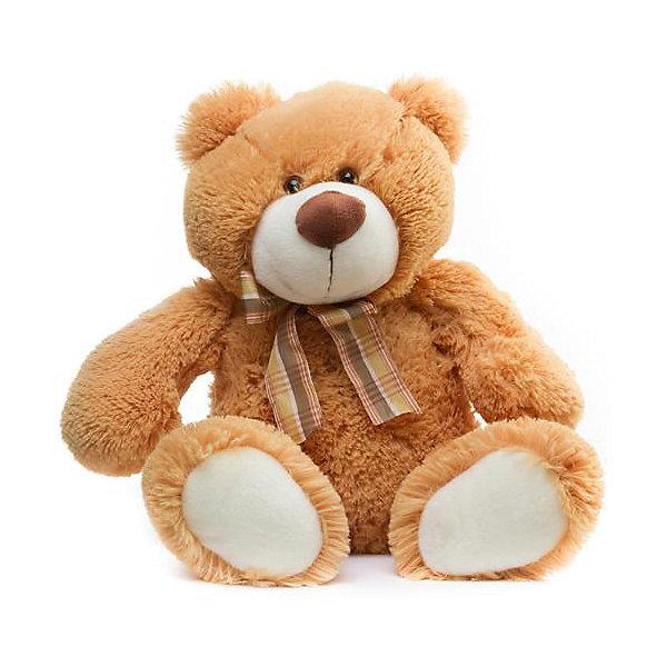 Мягкая игрушка Devilon Медведь Аркаша, 55 смМягкие игрушки животные<br>Характеристики:<br><br>• возраст: от 3 лет;<br>• материал: плюш, синтепон;<br>• длина игрушки: 55 см;<br>• цвет: бежевый.<br><br>Плюшевый медвежонок с бантиком станет хорошим подарком к празднику для мальчиков и девочек. Мягкая игрушка изготовлена из гипоаллергенных материалов, абсолютно безопасных для детей. Медвежонок обтянут ворсистым плюшем, имитирующим шерсть животного. Глаза сделаны из пластиковых бусин. В качестве наполнителя используется высококачественный синтепон.<br><br>Медведь Аркаша может быть героем в ролевых играх, украшением детской комнаты или игрушкой, с которой малыш будет спать в кровати.<br><br>Мягкую игрушку «Медведь Аркаша», Девилон М можно купить в нашем интернет-магазине.<br><br>Ширина мм: 210<br>Глубина мм: 280<br>Высота мм: 550<br>Вес г: 400<br>Возраст от месяцев: 36<br>Возраст до месяцев: 2147483647<br>Пол: Унисекс<br>Возраст: Детский<br>SKU: 7129565