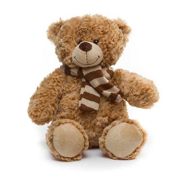Мягкая игрушка Devilon Медведь Гера, 30 смМягкие игрушки животные<br>Характеристики:<br><br>• возраст: от 3 лет;<br>• материал: плюш, синтепон;<br>• длина игрушки: 30 см;<br>• цвет: бежевый.<br><br>Плюшевый медвежонок с вязаным шарфиком станет хорошим подарком к празднику для мальчиков и девочек. Мягкая игрушка изготовлена из гипоаллергенных материалов, абсолютно безопасных для детей. Медвежонок обтянут ворсистым плюшем, имитирующим шерсть животного. Глаза сделаны из пластиковых бусин. В качестве наполнителя используется высококачественный синтепон.<br><br>Медведь Гера может быть героем в ролевых играх, украшением детской комнаты или игрушкой, с которой малыш будет спать в кровати.<br><br>Мягкую игрушку «Медведь Гера», Девилон М можно купить в нашем интернет-магазине.<br><br>Ширина мм: 180<br>Глубина мм: 250<br>Высота мм: 300<br>Вес г: 200<br>Возраст от месяцев: 36<br>Возраст до месяцев: 2147483647<br>Пол: Унисекс<br>Возраст: Детский<br>SKU: 7129566