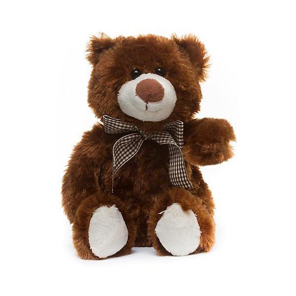 Мягкая игрушка Devilon Медведь Захар, 28 см (бурый)Мягкие игрушки животные<br>Характеристики:<br><br>• возраст: от 3 лет;<br>• материал: плюш, синтепон;<br>• высота игрушки: 28 см;<br>• цвет: коричневый.<br><br>Плюшевый медвежонок с бантиком стает хорошим подарком к празднику для мальчиков и девочек. Мягкая игрушка изготовлена из гипоаллергенных материалов, абсолютно безопасных для детей. Медвежонок обтянут ворсистым плюшем, имитирующим шерсть животного. Глаза сделаны из пластиковых бусин. В качестве наполнителя используется высококачественный синтепон.<br><br>Медведь Захар может быть героем в ролевых играх, украшением детской комнаты или игрушкой, с которой малыш будет спать в кровати.<br><br>Мягкую игрушку «Медведь Захар, бурый, 28 см», Девилон М можно купить в нашем интернет-магазине.<br>Ширина мм: 170; Глубина мм: 230; Высота мм: 280; Вес г: 150; Возраст от месяцев: 36; Возраст до месяцев: 2147483647; Пол: Унисекс; Возраст: Детский; SKU: 7129567;