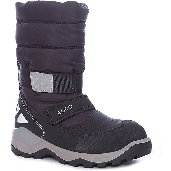 Сапоги ECCO для девочкиСапоги<br>Характеристики товара:<br><br>• цвет: черный<br>• внешний материал: искусственная кожа, текстиль<br>• внутренний материал: полиакрил, полиэстер<br>• стелька: термостелька - полиэстер<br>• подошва: полимер<br>• сезон: зима<br>• мембранные<br>• температурный режим: от -35 до 0<br>• особенности модели: спортивный стиль<br>• застежка: липучка<br>• защита мыса <br>• подошва не скользит<br>• анатомические<br>• страна бренда: Дания<br>• страна изготовитель: Китай<br><br>Высокие мембранные сапоги сделаны из качественных прочных материалов. Сапоги ECCO в спортивном стиле обеспечивают ногам комфортный микроклимат. Стильный дизайн детских сапог делает их комфортными и оригинальными. <br><br>Сапоги ECCO (ЭККО) можно купить в нашем интернет-магазине.<br><br>Ширина мм: 257<br>Глубина мм: 180<br>Высота мм: 130<br>Вес г: 420<br>Цвет: черный/серый<br>Возраст от месяцев: 168<br>Возраст до месяцев: 192<br>Пол: Женский<br>Возраст: Детский<br>Размер: 40,36,39,38,37<br>SKU: 7129795