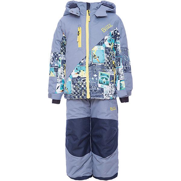 Комплект: куртка и брюки BLIZZ для мальчикаВерхняя одежда<br>Характеристики товара:<br><br>• цвет: серый<br>• комплектация: куртка и брюки<br>• состав ткани: полиэстер<br>• подкладка: куртка - флис, брюки - 100% полиэстер<br>• утеплитель: тек-полифилл<br>• сезон: зима<br>• мембранное покрытие<br>• температурный режим: от -40 до 0<br>• водонепроницаемость: 5000 мм <br>• паропроницаемость: 5000 г/м2<br>• плотность утеплителя: грудь и спина 220 г/м2, рукава и брюки 170 г/м2<br>• застежка: молния<br>• капюшон: без меха, съемный<br>• брюки усилены износостойкими вставками<br>• страна бренда: Канада<br>• страна изготовитель: Китай<br><br>Детский комплект для зимы усилен износостойкими накладкам на брючинах. Этот мембранный комплект для мальчика позволяет коже дышать. Верх детской зимней куртки и брюк не промокает и не продувается. Мягкая подкладка детского комплекта для зимы приятна на ощупь. <br><br>Комплект: куртка и брюки Blizz (Близ) для мальчика можно купить в нашем интернет-магазине.<br><br>Ширина мм: 356<br>Глубина мм: 10<br>Высота мм: 245<br>Вес г: 519<br>Цвет: серый<br>Возраст от месяцев: 48<br>Возраст до месяцев: 60<br>Пол: Мужской<br>Возраст: Детский<br>Размер: 110,128,104,116,116/122,122<br>SKU: 7131292