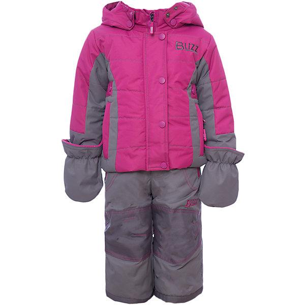 Комплект: куртка и брюки BLIZZ для девочкиВерхняя одежда<br>Характеристики товара:<br><br>• цвет: фуксия<br>• комплектация: куртка и брюки<br>• состав ткани: полиэстер<br>• подкладка: куртка - флис, брюки - 100% полиэстер<br>• утеплитель: тек-полифилл<br>• сезон: зима<br>• мембранное покрытие<br>• температурный режим: от -40 до 0<br>• водонепроницаемость: 5000 мм <br>• паропроницаемость: 5000 г/м2<br>• плотность утеплителя: грудь и спина 220 г/м2, рукава и брюки 170 г/м2<br>• застежка: молния<br>• капюшон: без меха, съемный<br>• брюки усилены износостойкими вставками<br>• страна бренда: Канада<br>• страна изготовитель: Китай<br><br>Яркий комплект Blizz для девочки рассчитан даже на сильные морозы. Мембранный зимний комплект для ребенка отличается продуманным дизайном. Непромокаемый и непродуваемый верх детского комплекта не задерживает воздух. Зимний комплект легкий и износостойкий. <br><br>Комплект: куртка и брюки Blizz (Близ) для девочки можно купить в нашем интернет-магазине.<br><br>Ширина мм: 356<br>Глубина мм: 10<br>Высота мм: 245<br>Вес г: 519<br>Цвет: розовый<br>Возраст от месяцев: 12<br>Возраст до месяцев: 18<br>Пол: Женский<br>Возраст: Детский<br>Размер: 86,116/122,116,110,104,98/104,98,92,86/92<br>SKU: 7131319