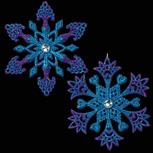 Украшение на елку ErichKrause Снежинка, со стразинкой 18 смЁлочные игрушки<br>Характеристики:<br><br>• в комплекте: 1 украшение<br>• диаметр: 13 см.<br>• в ассортименте 2 вида<br>• ВНИМАНИЕ! Данный артикул представлен в разных вариантах исполнения. К сожалению, заранее выбрать определенный вариант невозможно. При заказе нескольких украшений возможно получение одинаковых<br><br>Новогоднее украшение «Снежинка» от ErichKrause (ЭрихКраузе) выполнено из высококачественного материала. Снежинка оформлена стразом, сверкающим в центре, как звездочка. Украшение чудесно дополнит новогодний интерьер вашего дома.<br><br>Новогодние украшения приносят в дом волшебство и ощущение праздника. Создайте в своем доме атмосферу веселья и радости, украшая всей семьей новогоднюю елку нарядными игрушками, которые будут из года в год накапливать теплоту воспоминаний.<br><br>Украшение СНЕЖИНКА со стразинкой 13см можно купить в нашем интернет-магазине.<br><br>Ширина мм: 130<br>Глубина мм: 15<br>Высота мм: 130<br>Вес г: 30<br>Возраст от месяцев: -2147483648<br>Возраст до месяцев: 2147483647<br>Пол: Унисекс<br>Возраст: Детский<br>SKU: 7132360