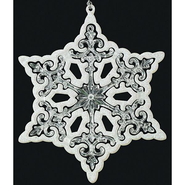Украшение на елку ErichKrause Звезда, 13 см (перламутровая)Ёлочные игрушки<br>Характеристики:<br><br>• диаметр: 13 см.<br>• вес: 40 гр.<br><br>Новогоднее украшение «Звезда» от ErichKrause (ЭрихКраузе) выполнено из высококачественного материала. Необычная звезда декорирована блестками перламутрового цвета. Эффект 3D достигается за счет плавного перехода цвета от белого к прозрачному и объема изделия.<br><br>С помощью специальной петли украшение можно подвесить в любом понравившемся месте. Но, конечно же, удачнее всего такая игрушка будет смотреться на праздничной елке.<br><br>Новогодние украшения приносят в дом волшебство и ощущение праздника. Создайте в своем доме атмосферу веселья и радости, украшая всей семьей новогоднюю елку нарядными игрушками, которые будут из года в год накапливать теплоту воспоминаний.<br><br>Украшение ЗВЕЗДА перламутровая 13см можно купить в нашем интернет-магазине.<br><br>Ширина мм: 110<br>Глубина мм: 5<br>Высота мм: 130<br>Вес г: 40<br>Возраст от месяцев: -2147483648<br>Возраст до месяцев: 2147483647<br>Пол: Унисекс<br>Возраст: Детский<br>SKU: 7132383