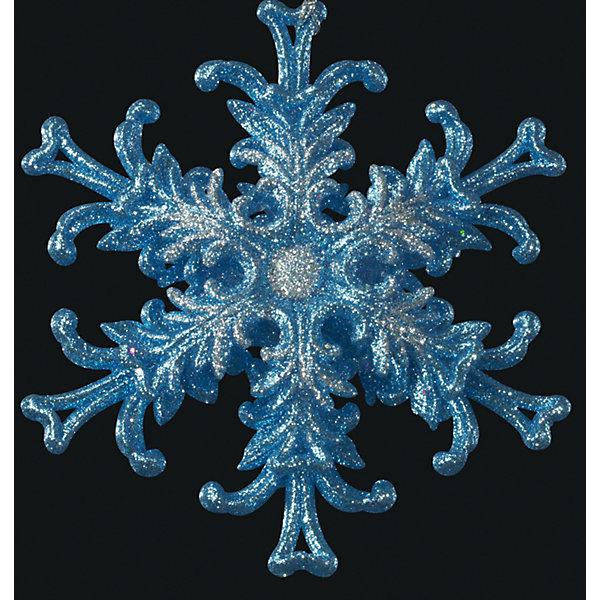 Украшение на елку ErichKrause Снежинка, 12 см (звездная)Ёлочные игрушки<br>Характеристики:<br><br>• диаметр: 12 см.<br>• вес: 50 гр.<br><br>Новогоднее украшение «Снежинка звездная» от ErichKrause (ЭрихКраузе) выполнено из высококачественного материала. Снежинка лазурного цвета привлекает внимание своей объемной конструкцией. Яркий цвет дополняют блестки, завораживающие своим сиянием.<br><br>С помощью специальной петли украшение можно подвесить в любом понравившемся месте. Но, конечно же, удачнее всего такая игрушка будет смотреться на праздничной елке. Снежинка будет мерцать в свете гирлянд, создавая праздничное настроение и волшебную атмосферу в доме.<br><br>Новогодние украшения приносят в дом волшебство и ощущение праздника. Создайте в своем доме атмосферу веселья и радости, украшая всей семьей новогоднюю елку нарядными игрушками, которые будут из года в год накапливать теплоту воспоминаний.<br><br>Украшение СНЕЖИНКА звездная 12см можно купить в нашем интернет-магазине.<br>Ширина мм: 110; Глубина мм: 30; Высота мм: 120; Вес г: 50; Возраст от месяцев: -2147483648; Возраст до месяцев: 2147483647; Пол: Унисекс; Возраст: Детский; SKU: 7132384;
