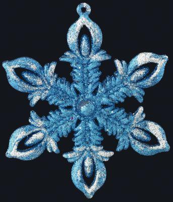 Erich Krause Украшение на елку ErichKrause Рождественская снежинка , 12 см