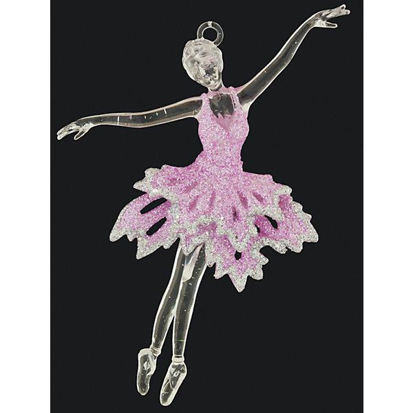 Украшение на елку ErichKrause Воздушная балерина, 15 смЁлочные игрушки<br>Характеристики:<br><br>• размер: 15 см.<br>• вес: 30 гр.<br><br>Новогоднее украшение в виде балерины в розовом усыпанном блестками платье, словно нарисовано волшебным карандашом прямо в воздухе. Легкость, воздушность, изящность — именно такие ассоциации возникают при взгляде на это оригинальное украшение.<br><br>С помощью специальной петли украшение можно подвесить в любом понравившемся месте. Но, конечно же, удачнее всего такая игрушка будет смотреться на праздничной елке. Украшение будет мерцать в свете гирлянд, создавая праздничное настроение и волшебную атмосферу в доме.<br><br>Новогодние украшения приносят в дом волшебство и ощущение праздника. Создайте в своем доме атмосферу веселья и радости, украшая всей семьей новогоднюю елку нарядными игрушками, которые будут из года в год накапливать теплоту воспоминаний.<br><br>Украшение БАЛЕРИНА воздушная 15см можно купить в нашем интернет-магазине.<br>Ширина мм: 75; Глубина мм: 20; Высота мм: 150; Вес г: 30; Возраст от месяцев: -2147483648; Возраст до месяцев: 2147483647; Пол: Унисекс; Возраст: Детский; SKU: 7132414;