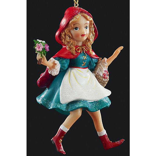 Украшение на елку ErichKrause Красная шапочка, 11 смЁлочные игрушки<br>Характеристики:<br><br>• размер: 11 см.<br>• материал: полирезина<br><br>Оригинальное украшение в виде Красной Шапочки - необычное решение для праздничного декора. С помощью специальной петли украшение можно разместить как на елке, так и в любом подходящем месте интерьера.<br><br>Новогодние украшения приносят в дом волшебство и ощущение праздника. Создайте в своем доме атмосферу веселья и радости, украшая всей семьей новогоднюю елку нарядными игрушками, которые будут из года в год накапливать теплоту воспоминаний.<br><br>Украшение КРАСНАЯ ШАПОЧКА 11см можно купить в нашем интернет-магазине.<br>Ширина мм: 70; Глубина мм: 50; Высота мм: 110; Вес г: 90; Возраст от месяцев: -2147483648; Возраст до месяцев: 2147483647; Пол: Унисекс; Возраст: Детский; SKU: 7132443;