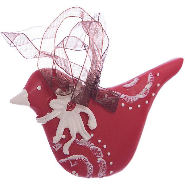 Украшение на елку ErichKrause Птичка узорная, 8,5 смЁлочные игрушки<br>Характеристики:<br><br>• размер: 8,5 см.<br>• вес: 30 гр.<br><br>Сочетание красного и белого цветов - одно из самых популярных среди новогодних украшений. Красная птичка с клювом и бантиком белого цвета символизирует домашний уют. Отличительной особенностью этого изделия является тонко прорисованный орнамент.<br><br>Украшение оснащено красивой ленточкой с помощью, которой его можно подвесить в любом понравившемся месте. Но, конечно же, удачнее всего такая игрушка будет смотреться на праздничной елке.<br><br>Новогодние украшения приносят в дом волшебство и ощущение праздника. Создайте в своем доме атмосферу веселья и радости, украшая всей семьей новогоднюю елку нарядными игрушками, которые будут из года в год накапливать теплоту воспоминаний.<br><br>Украшение ПТИЧКА узорная 8.5см можно купить в нашем интернет-магазине.<br>Ширина мм: 85; Глубина мм: 10; Высота мм: 55; Вес г: 30; Возраст от месяцев: -2147483648; Возраст до месяцев: 2147483647; Пол: Унисекс; Возраст: Детский; SKU: 7132471;