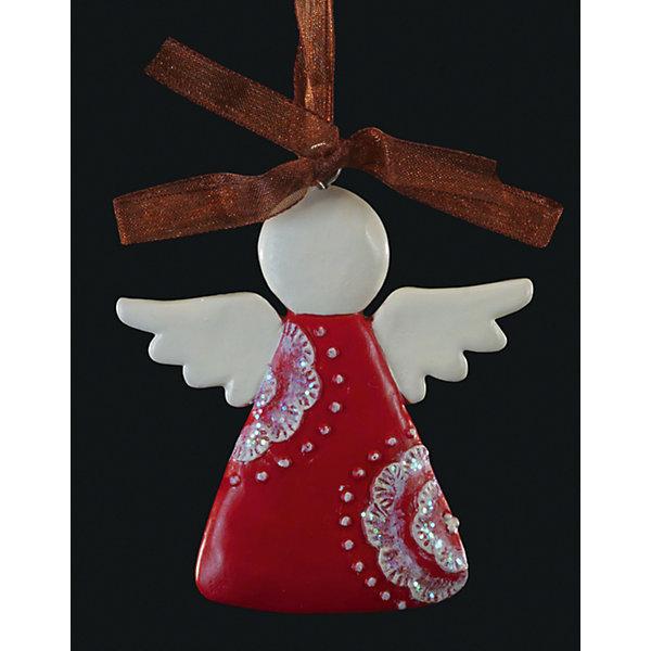 Украшение на елку ErichKrause Ангел узорный, 6,5 смЁлочные игрушки<br>Характеристики:<br><br>• размер: 6,5 см.<br>• вес: 30 гр.<br><br>Сочетание красного и белого цветов - одно из самых популярных среди новогодних украшений. Красный ангелочек с крыльями и головой белого цвета символизирует спокойствие и душевное равновесие. Отличительной особенностью этого изделия является тонко прорисованный орнамент.<br><br>Украшение оснащено красивой ленточкой с помощью, которой его можно подвесить в любом понравившемся месте. Но, конечно же, удачнее всего такая игрушка будет смотреться на праздничной елке.<br><br>Новогодние украшения приносят в дом волшебство и ощущение праздника. Создайте в своем доме атмосферу веселья и радости, украшая всей семьей новогоднюю елку нарядными игрушками, которые будут из года в год накапливать теплоту воспоминаний.<br><br>Украшение АНГЕЛ узорный 6.5см можно купить в нашем интернет-магазине.<br>Ширина мм: 65; Глубина мм: 10; Высота мм: 65; Вес г: 30; Возраст от месяцев: -2147483648; Возраст до месяцев: 2147483647; Пол: Унисекс; Возраст: Детский; SKU: 7132472;