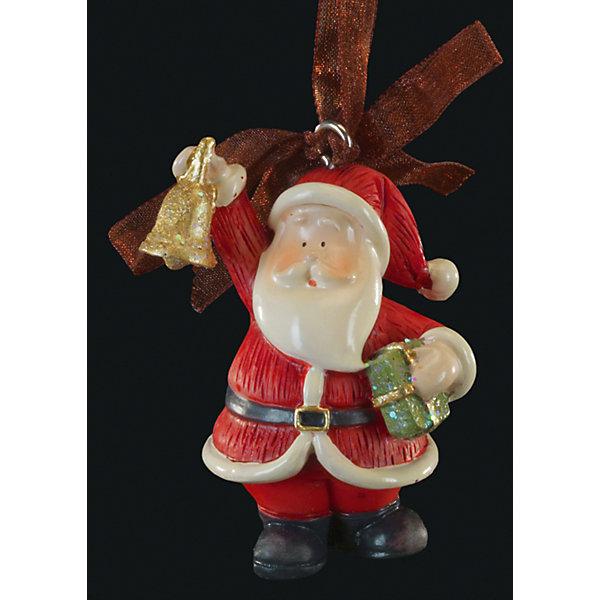 Украшение на елку ErichKrause Санта с колокольчиком, 6 смЁлочные игрушки<br>Характеристики:<br><br>• размер: 6 см.<br>• материал: полирезина<br><br>Новогоднее украшение от ErichKrause (ЭрихКраузе), выполненное из высококачественного материала, представляет собой маленькую фигурку Санты с колокольчиком. Украшение оснащено красивой ленточкой с помощью, которой его можно подвесить в любом понравившемся месте. Но, конечно же, удачнее всего такая игрушка будет смотреться на праздничной елке.<br><br>Новогодние украшения приносят в дом волшебство и ощущение праздника. Создайте в своем доме атмосферу веселья и радости, украшая всей семьей новогоднюю елку нарядными игрушками, которые будут из года в год накапливать теплоту воспоминаний.<br><br>Украшение САНТА с колокольчиком 6см можно купить в нашем интернет-магазине.<br>Ширина мм: 40; Глубина мм: 35; Высота мм: 60; Вес г: 50; Возраст от месяцев: -2147483648; Возраст до месяцев: 2147483647; Пол: Унисекс; Возраст: Детский; SKU: 7132478;