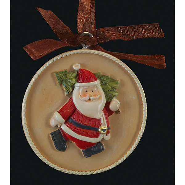 Украшение на елку ErichKrause Медальон с Сантой, 5,5 смЁлочные игрушки<br>Характеристики:<br><br>• размер: 5,5 см.<br>• материал: полирезина<br><br>Новогоднее украшение «Санта» от ErichKrause (ЭрихКраузе) выполнено из высококачественного материала. Украшение представляет собой объемную фигурку Санта Клауса, расположенную в центре плоского медальона. Изящная окантовка добавляет изделию благородство. Украшение оснащено красивой ленточкой с помощью, которой его можно подвесить в любом понравившемся месте. Но, конечно же, удачнее всего такая игрушка будет смотреться на праздничной елке.<br><br>Новогодние украшения приносят в дом волшебство и ощущение праздника. Создайте в своем доме атмосферу веселья и радости, украшая всей семьей новогоднюю елку нарядными игрушками, которые будут из года в год накапливать теплоту воспоминаний.<br><br>Украшение САНТА медальон 5.5см можно купить в нашем интернет-магазине.<br>Ширина мм: 55; Глубина мм: 10; Высота мм: 55; Вес г: 30; Возраст от месяцев: -2147483648; Возраст до месяцев: 2147483647; Пол: Унисекс; Возраст: Детский; SKU: 7132482;