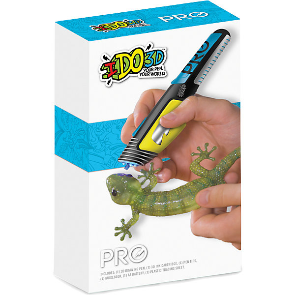 3D-ручка Redwood Вертикаль PRO, синяяНаборы 3D ручек<br>Характеристики товара:<br><br>• в комплекте: 3D ручка, сменный картридж синего цвета, 3 насадки, подложка, инструкция;<br>• возраст: от 8 лет;<br>• материал: пластик, полимер;<br>• батарейки: АА - 1 шт. (входят в комплект);<br>• размер упаковки: 6,5х20х15 см;<br>• вес: 230 грамм;<br>• страна бренда: США.<br><br>3D ручка «Вертикаль PRO» создана специально для любителей уникальных фигурок, созданных своими руками. С помощью ручки можно создать разнообразные поделки. Ручка не нагревается, не имеет проводов, что обеспечивает безопасность ребенка во время использования изделия. Кроме того, полимер не нужно нагревать, благодаря чему исключена вероятность получения ожогов.<br><br>Для создания фигурки необходимо обвести трафарет или нарисовать свои линии. После этого нужно воспользоваться встроенной лампой, которая способствует отверждению нарисованных линий. Полученные детали можно соединять. В комплект входят 3 насадки для регулирования толщины линий. Рекомендуется подождать некоторое время после заполнения контуров, чтобы паста распределилась равномерно.<br><br>3D ручку «Вертикаль PRO» для профессионалов, Redwood 3D (Редвуд 3Д) можно купить в нашем интернет-магазине.<br>Ширина мм: 150; Глубина мм: 200; Высота мм: 65; Вес г: 230; Возраст от месяцев: 144; Возраст до месяцев: 2147483647; Пол: Унисекс; Возраст: Детский; SKU: 7133331;