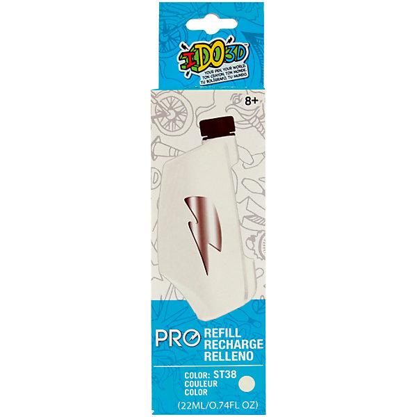 Картридж для 3D ручки Redwood Вертикаль PRO белыйПластик для 3D ручек<br>Характеристики товара:<br><br>• в комплекте: картридж;<br>• цвет: белый;<br>• возраст: от 8 лет;<br>• материал: полимер;<br>• размер упаковки: 2,5х6х16 см;<br>• вес: 50 грамм;<br>• страна бренда: США.<br><br>Картридж предназначен для 3D ручки «Вертикаль PRO». Внутри картриджа находится жидкий полимер белого цвета, который затвердевает при использовании специальной лампы, встроеной в ручку. Используя разные оттенки, можно создать удивительные фигурки и поделки. Для регулирования толщины линий необходимо нажать на мягкие стенки картириджа.<br><br>Картридж для 3D ручки «Вертикаль PRO» для профессионалов (Белый), Redwood 3D (Редвуд 3Д) можно купить в нашем интернет-магазине.<br>Ширина мм: 160; Глубина мм: 25; Высота мм: 60; Вес г: 50; Возраст от месяцев: 144; Возраст до месяцев: 2147483647; Пол: Унисекс; Возраст: Детский; SKU: 7133340;