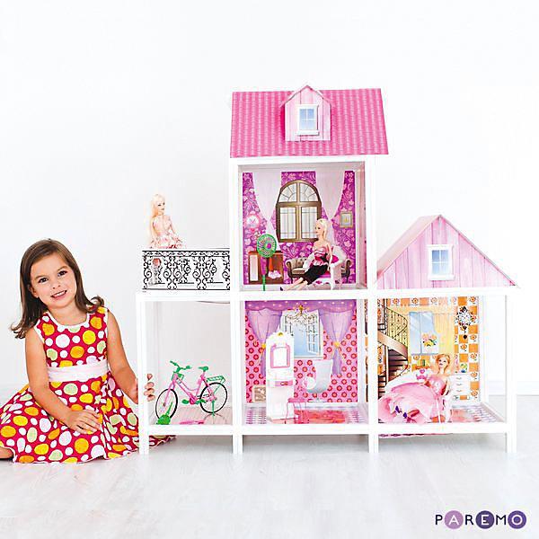 2-этажный кукольный домДомики для кукол<br><br>Ширина мм: 78; Глубина мм: 13; Высота мм: 36; Вес г: 10000; Возраст от месяцев: 36; Возраст до месяцев: 144; Пол: Унисекс; Возраст: Детский; SKU: 7133384;