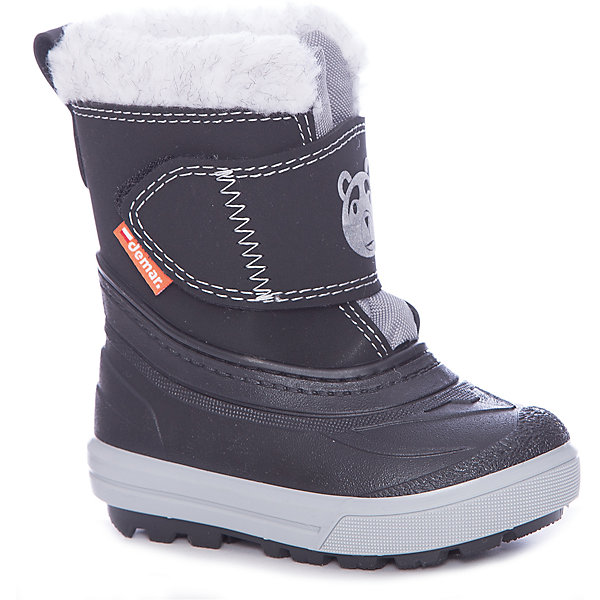 Сноубутсы DemarСноубутсы<br>Сноубутсы Demar <br>Зимняя модель. Сапожки имеют утеплитель внутренней части изготовлен на основе натуральной овечьей шерсти, помогает выдерживать морозы до - 20 ° C. Зимние сапожки Demar очень легкие, вес до 400 гр.<br>Верх обуви - не продуваемый текстильный материал, имеющий высокие износостойкие и водоотталкивающие свойства. Термокаучук, используется при изготовлении подошвы способствует сохранению эластичности даже при низких температурах и позволяет избежать скольжения. Сапожки легко одеваются. Выполнены из супер легких материалов, вес их на столько легкий, что ребенок даже не заметит, что он уже обут)))<br>Утепленные натуральной овечьей шерстью - гарантия теплых ножек!<br>Сделаны в Польше!<br>Рекомендуем для зимних прогулок и игр.<br>Сертифицированы, гарантия качества. <br>Состав:<br><br>Ширина мм: 257<br>Глубина мм: 180<br>Высота мм: 130<br>Вес г: 420<br>Цвет: черный/серый<br>Возраст от месяцев: 24<br>Возраст до месяцев: 24<br>Пол: Унисекс<br>Возраст: Детский<br>Размер: 24/25,22/23,20/21,28/29,26/27<br>SKU: 7133866