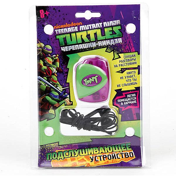 Компактное подслушивающее устройство Играем вместе Черепашки-ниндзяНаборы шпиона<br>Характеристики:<br><br>• возраст: от 3 лет;<br>• тип игрушки: записывающее устройство;<br>• материал: пластик;<br>• цвет: зеленый, сиреневый;<br>• размер: 15х5х21 см;<br>• вес: 120 гр;<br>• тип батареек: 2хАА;<br>• наличие батареек: входят в комплект.<br>• страна производитель: Россия.<br><br>Компактное подслушивающее устройство шпиона «Черепашки-ниндзя» станет лучшей игрой для любителей шпионских мультиков. С записывающим прибором с логотипом Черепашек-ниндзя ребенок сможет слышать разговоры на расстоянии и оставаться незамеченным, ведь устройство очень маленькое и его можно незаметно подложить практически куда угодно, даже в карман. <br><br>Разместить можно и на куртке, закрепив с помощью клипсы. Устройство предназначено специально для детей от трех лет. Устройство от «Играем вместе» имеет наушники и приемник, а также позволяет регулировать звук. С таким устройством любая игра в шпионов будет максимально реалистичной.<br> <br>Компактное подслушивающее устройство шпиона «Черепашки-ниндзя» можно купить в нашем интернет-магазине.<br>Ширина мм: 150; Глубина мм: 50; Высота мм: 210; Вес г: 120; Возраст от месяцев: 36; Возраст до месяцев: 84; Пол: Мужской; Возраст: Детский; SKU: 7134890;