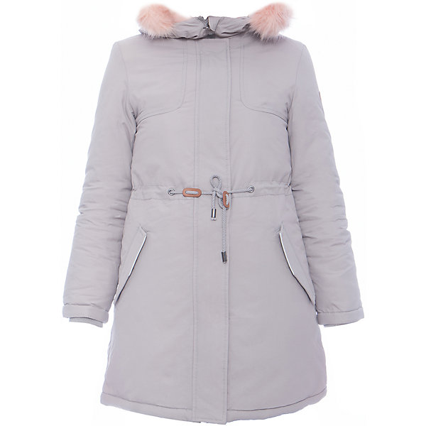 Пальто SELA для девочкиВерхняя одежда<br>Характеристики товара:<br><br>• цвет: серый<br>• ткань верха: 100% нейлон<br>• подкладка: 100% полиэстер<br>• утеплитель: 100% полиэстер<br>• сезон: демисезон<br>• температурный режим: от - 10 до +10<br>• капюшон: с мехом, несъемный<br>• застежка: молния<br>• страна бренда: Россия<br>• страна изготовитель: Китай<br><br>Серое теплое пальто для девочки от Sela поможет обеспечить ребенку тепло и комфорт. Такое детское пальто отличается стильным лаконичным дизайном. В этом пальто ребенок будет чувствовать себя комфортно в прохладную погоду. <br><br>Пальто Sela (Села) для девочки можно купить в нашем интернет- магазине.<br>Ширина мм: 356; Глубина мм: 10; Высота мм: 245; Вес г: 519; Цвет: серый; Возраст от месяцев: 132; Возраст до месяцев: 144; Пол: Женский; Возраст: Детский; Размер: 152,122,128,140; SKU: 7136651;