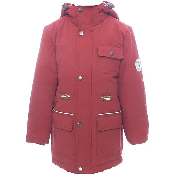 Куртка SELA для мальчикаВерхняя одежда<br>Характеристики товара:<br><br>• цвет: красный<br>• ткань верха: 100% полиэстер<br>• подкладка: 100% полиэстер<br>• утеплитель: 100% полиэстер<br>• сезон: демисезон<br>• температурный режим: от - 5 до +15<br>• капюшон: без меха, несъемный<br>• застежка: молния<br>• страна бренда: Россия<br>• страна изготовитель: Китай<br><br>Практичная куртка имеет приятную на ощупь подкладку. Куртка для мальчика Sela оснащена вместительными карманами. Детская куртка сшита из плотного качественного материала. Теплая детская куртка отлично подойдет для прохладной погоды межсезонья. <br><br>Куртку Sela (Села) для мальчика можно купить в нашем интернет- магазине.<br>Ширина мм: 356; Глубина мм: 10; Высота мм: 245; Вес г: 519; Цвет: оранжевый; Возраст от месяцев: 60; Возраст до месяцев: 72; Пол: Мужской; Возраст: Детский; Размер: 116,98,104,110; SKU: 7136683;