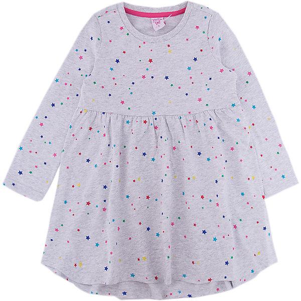 Платье SELA для девочкиПлатья и сарафаны<br>Характеристики товара:<br><br>• цвет: серый<br>• состав ткани: 100% хлопок<br>• сезон: демисезон<br>• длинные рукава<br>• страна бренда: Россия<br>• страна производства: Китай<br><br>Это платье для девочки отличается удлиненным сзади подолом. Принтованная дышащая ткань детского платья - качественный натуральный хлопок. Серое платье для девочки от Sela - стильная молодежная вещь по доступной цене. <br><br>Платье для девочки Sela (Села) можно купить в нашем интернет- магазине.<br><br>Ширина мм: 236<br>Глубина мм: 16<br>Высота мм: 184<br>Вес г: 177<br>Цвет: серый<br>Возраст от месяцев: 18<br>Возраст до месяцев: 24<br>Пол: Женский<br>Возраст: Детский<br>Размер: 92,98,116,110,104<br>SKU: 7136706