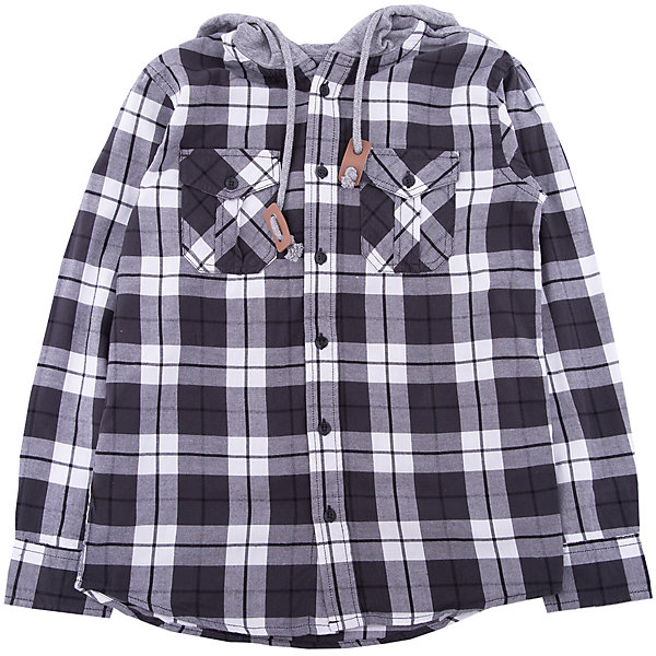 Рубашка SELA для мальчикаБлузки и рубашки<br>Характеристики товара:<br><br>• цвет: серый<br>• состав ткани: 100% хлопок<br>• сезон: демисезон<br>• застежка: пуговицы<br>• особенности модели: с капюшоном<br>• длинные рукава<br>• страна бренда: Россия<br>• страна производства: Бангладеш<br><br>Серая рубашка для мальчика от Sela поможет обеспечить ребенку тепло и комфорт. Такая детская рубашка отличается стильным дизайном. Хлопковая рубашка сделана из качественного натурального материала. <br><br>Рубашку Sela (Села) для мальчика можно купить в нашем интернет- магазине.<br>Ширина мм: 174; Глубина мм: 10; Высота мм: 169; Вес г: 157; Цвет: черный; Возраст от месяцев: 132; Возраст до месяцев: 144; Пол: Мужской; Возраст: Детский; Размер: 152,122,146,140,134,128; SKU: 7136718;