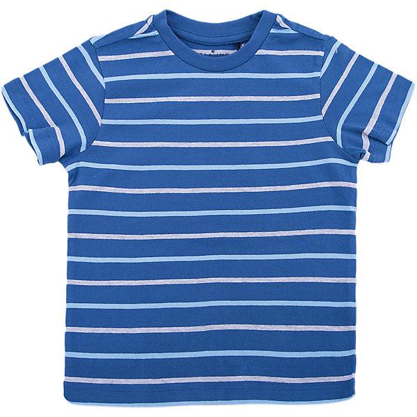 Футболка SELA для мальчикаФутболки, поло и топы<br>Характеристики товара:<br><br>• цвет: синий<br>• состав ткани: 100% хлопок<br>• сезон: лето<br>• короткие рукава<br>• страна бренда: Россия<br>• страна производства: Бангладеш<br><br>Синяя футболка для мальчика от Sela декорирована яркими полосами. Хлопковая футболка для мальчика поможет разнообразить гардероб ребенка. Трикотажная футболка для ребенка - базовая вещь в гардеробе. <br><br>Футболку Sela (Села) для мальчика можно купить в нашем интернет- магазине.<br><br>Ширина мм: 199<br>Глубина мм: 10<br>Высота мм: 161<br>Вес г: 151<br>Цвет: синий<br>Возраст от месяцев: 18<br>Возраст до месяцев: 24<br>Пол: Мужской<br>Возраст: Детский<br>Размер: 92,116,110,104,98<br>SKU: 7137176