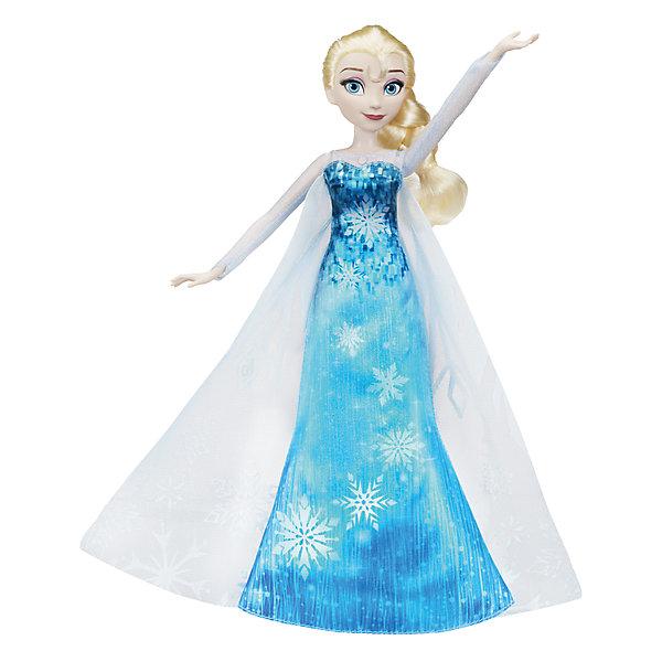 Кукла Hasbro Disney Frozen, Эльза в музыкальном платьеХолодное Сердце<br><br><br>Ширина мм: 64<br>Глубина мм: 229<br>Высота мм: 356<br>Вес г: 313<br>Возраст от месяцев: 36<br>Возраст до месяцев: 2147483647<br>Пол: Женский<br>Возраст: Детский<br>SKU: 7137749