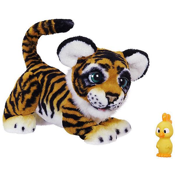 Интерактивная игрушка Hasbro FurReal Friends, Игривый тигренок рычащий АмурчикИнтерактивные животные<br>Каждый ребёнок может завести настоящего тигрёнка и позаботиться о нём. Тигрёнок очень нежный и ласковый.<br>Порычи ему, а он ответит взаимностью. У РЫЧАЩЕГО АМУРЧИКА есть сенсорные датчики на лбу, спинке и мордочке, что позволяет ему реагировать на прикосновения, а также он умеет моргать глазками и шевелить ушками. А ещё тигрёнок издаёт весёлые звуки, рычит, веляет хвостиком и вращает головой. Требуются батарейки 4C, в комплект не входят.<br>Ширина мм: 216; Глубина мм: 508; Высота мм: 445; Вес г: 2676; Возраст от месяцев: 48; Возраст до месяцев: 2147483647; Пол: Женский; Возраст: Детский; SKU: 7137766;