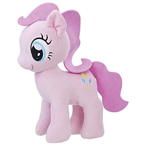 Мягкая игрушка Hasbro My little Pony Плюшевые пони, Пинки ПайМягкие игрушки из мультфильмов<br>Характеристики:<br><br>• тип игрушки: фигурка;<br>• возраст: от 3 лет;<br>• вес: 186 гр; <br>• цвет: розовый;<br>• материал: плюш;<br>• размер: 16х8х24 см;<br>• бренд: Hasbro.<br><br>Плюшевые Пони Маленькие, Hasbro, My Little Pony  представляет из себя красивую лошадку, которая порадует девочек от трех лет. Мягкая игрушка выполнена из плюша. Грива и хвост игрушки выполнены из ткани. Знак и глаза на красивой фигурке вышиты. Игрушка выполнена из качественных и безопасных материалов, поэтому рекомендована для детей.<br><br>В серии представлены несколько игрушек из плюша, разных цветов. Поэтому ребенок сможет собрать целую коллекцию волшебных лошадок.<br><br>Плюшевые Пони Маленькие, Hasbro, My Little Ponyможно купить в нашем интернет-магазине.<br>Ширина мм: 80; Глубина мм: 160; Высота мм: 240; Вес г: 186; Возраст от месяцев: 36; Возраст до месяцев: 2147483647; Пол: Женский; Возраст: Детский; SKU: 7137778;