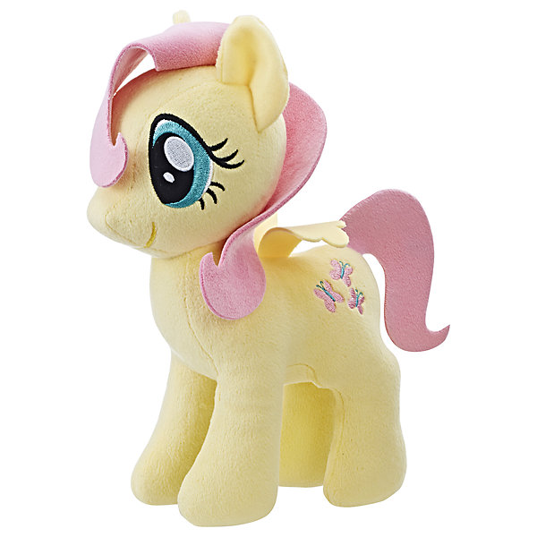 Мягкая игрушка Hasbro My little Pony Плюшевые пони, ФлаттершайМягкие игрушки из мультфильмов<br>Характеристики:<br><br>• тип игрушки: фигурка;<br>• возраст: от 3 лет;<br>• вес: 186 гр; <br>• цвет: желтый;<br>• материал: плюш;<br>• размер: 16х8х24 см;<br>• бренд: Hasbro.<br><br>Плюшевые Пони Маленькие, Hasbro, My Little Pony  представляет из себя красивую лошадку, которая порадует девочек от трех лет. Мягкая игрушка выполнена из плюша. Грива и хвост игрушки выполнены из ткани. Знак и глаза на красивой фигурке вышиты. Игрушка выполнена из качественных и безопасных материалов, поэтому рекомендована для детей.<br><br>В серии представлены несколько игрушек из плюша, разных цветов. Поэтому ребенок сможет собрать целую коллекцию волшебных лошадок.<br><br>Плюшевые Пони Маленькие, Hasbro, My Little Ponyможно купить в нашем интернет-магазине.<br>Ширина мм: 80; Глубина мм: 160; Высота мм: 240; Вес г: 186; Возраст от месяцев: 36; Возраст до месяцев: 2147483647; Пол: Женский; Возраст: Детский; SKU: 7137780;