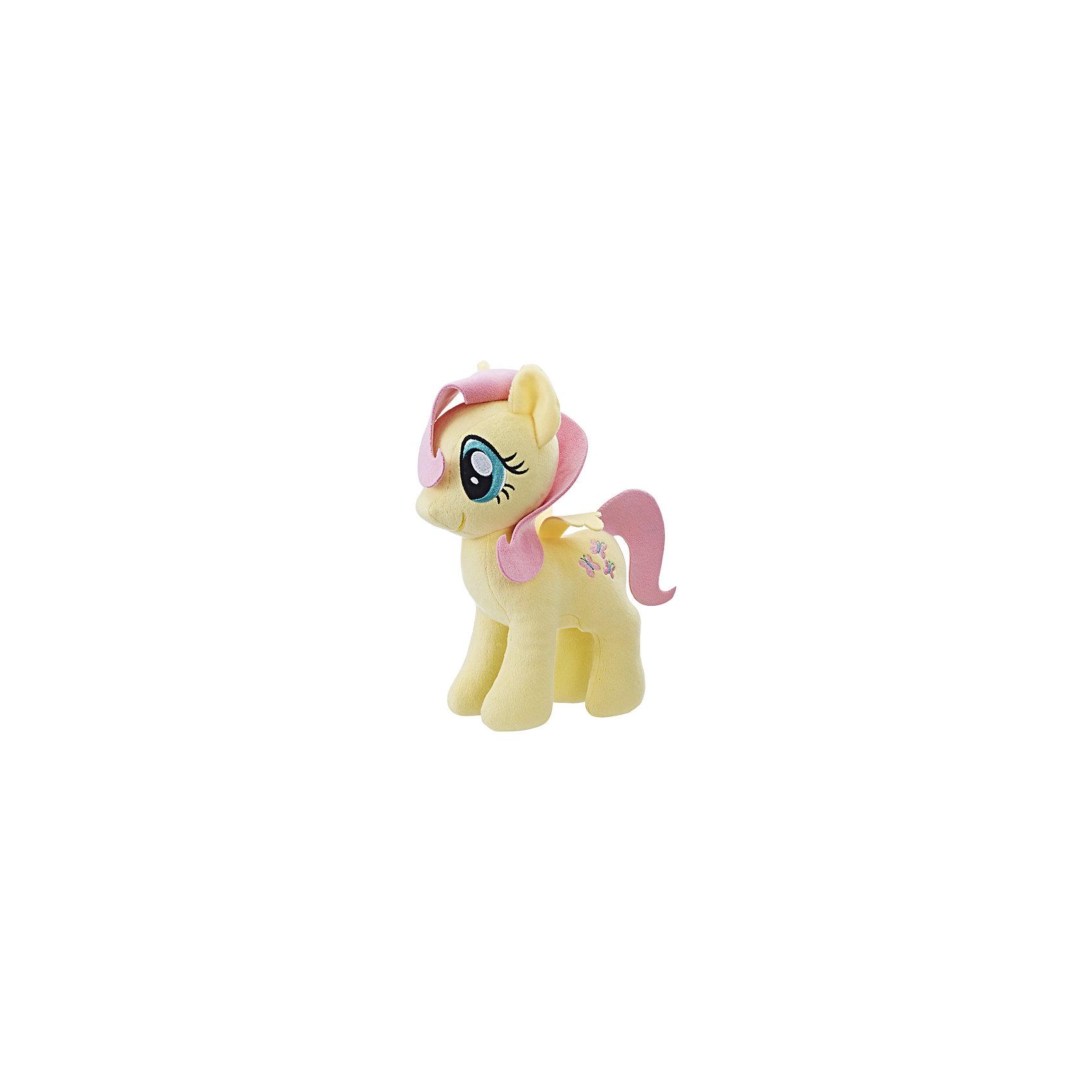 Мягкая игрушка Hasbro My little Pony Плюшевые пони, ФлаттершайМягкие игрушки из мультфильмов<br><br><br>Ширина мм: 80<br>Глубина мм: 160<br>Высота мм: 240<br>Вес г: 186<br>Возраст от месяцев: 36<br>Возраст до месяцев: 2147483647<br>Пол: Женский<br>Возраст: Детский<br>SKU: 7137780
