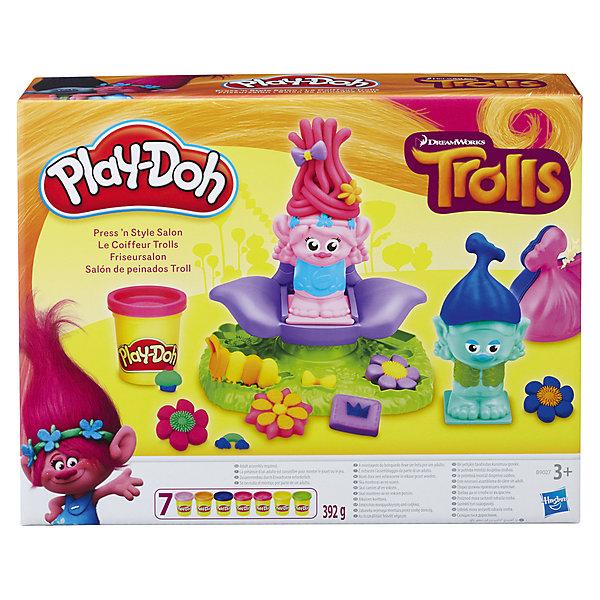 Набор для творчества Hasbro Play-Doh ТроллиНаборы для лепки<br><br>Ширина мм: 67; Глубина мм: 281; Высота мм: 213; Вес г: 850; Возраст от месяцев: 36; Возраст до месяцев: 2147483647; Пол: Унисекс; Возраст: Детский; SKU: 7137794;