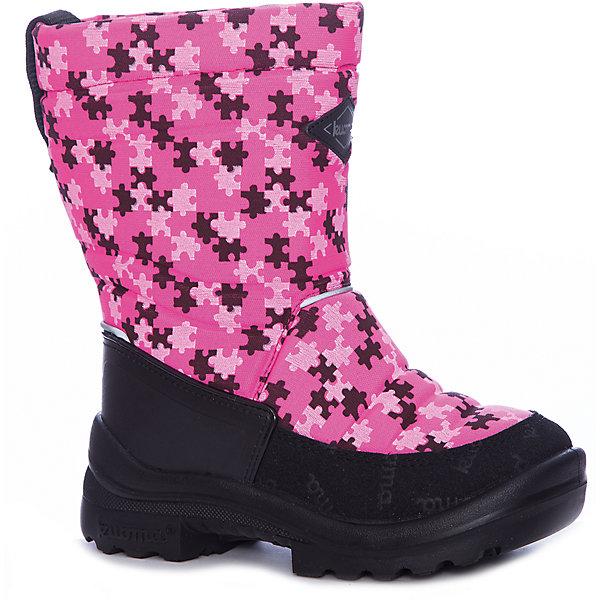 Сапоги Putkivarsi Kuoma для девочкиВаленки<br>Характеристики товара:<br><br>• цвет: розовый<br>• внешний материал: текстиль<br>• внутренний материал: войлок<br>• стелька: войлок<br>• подошва: полиуретан<br>• сезон: зима<br>• температурный режим: от -35 до -5<br>• застежка: нет<br>• анатомические <br>• подошва не скользит<br>• высокие<br>• защита мыса<br>• страна бренда: Финляндия<br>• страна изготовитель: Финляндия<br><br>Материал, из которого сделаны зимние детские сапоги, прочный и износостойкий. Зимние сапоги для девочки отличаются комфортной посадкой и дополнительной пропиткой. Она обеспечивает теплым детским сапогам защиту от грязи и влаги. <br><br>Сапоги Putkivarsi Kuoma (Куома) для девочки можно купить в нашем интернет-магазине.<br><br>Ширина мм: 257<br>Глубина мм: 180<br>Высота мм: 130<br>Вес г: 420<br>Цвет: розовый<br>Возраст от месяцев: 60<br>Возраст до месяцев: 72<br>Пол: Женский<br>Возраст: Детский<br>Размер: 29,35,34,33,31,30<br>SKU: 7138540