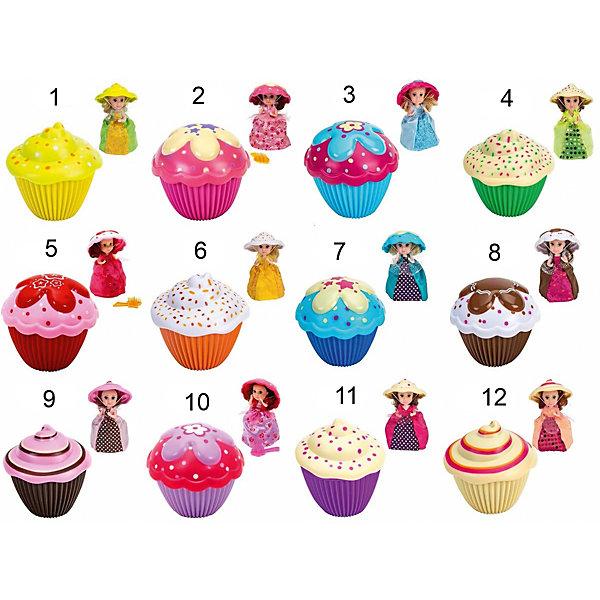 Мини-кукла Emco Кукла-кекс. Cupcake Surprise. Новая волна, в ассортиментеКуклы<br>Характеристики товара: <br><br>• возраст: от 3 лет;<br>• материал: силикон, пластик;<br>• в комплекте: кукла-кекс, расческа;<br>• высота куклы: 15 см;<br>• высота кекса: 9 см;<br>• размер упаковки: 9,7х9,7х9,7 см;<br>• вес упаковки: 161 гр.;<br>• страна производитель: Китай;<br>• товар представлен в ассортименте.<br><br>Кукла-кекс «Новая волна» Cupcake Suprise представляет собой кекс, который легко трансформируется в куколку. Так как сам кекс выполнен из мягкого силикона, то он легко выгибается и превращается в платье. А крышка кекса становится шляпкой. Куколка одета в яркое платье, у нее мягкие волосы. При помощи расчески их можно расчесать. <br><br>Куклу-кекс «Новая волна» Cupcake Surprise можно приобрести в нашем интернет-магазине.<br>Ширина мм: 97; Глубина мм: 97; Высота мм: 97; Вес г: 161; Возраст от месяцев: 36; Возраст до месяцев: 144; Пол: Женский; Возраст: Детский; SKU: 7139057;