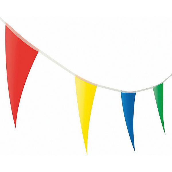 Гирлянда-флажки, 4м., полиэтилен, блистерБаннеры и гирлянды для детской вечеринки<br>Гирлянда - флажки разноцветная. Изготовлена из полиэтилена. Является отличным украшением для праздника. Размер 4 метра.  Не токсична.<br>Ширина мм: 5; Глубина мм: 25; Высота мм: 37; Вес г: 35; Возраст от месяцев: 36; Возраст до месяцев: 2147483647; Пол: Унисекс; Возраст: Детский; SKU: 7139138;