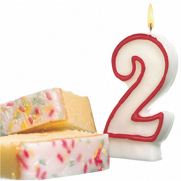 Свеча-цифра для торта Susy Card Цифра 2 8,5 смНовинки для праздника<br>Характеристики товара: <br><br>• возраст: от 3 лет;<br>• вид: свеча-цифра номер 2;<br>• состав: парафин;<br>• размер: 1,8x9x17,5 см.;<br>• вес: 39 гр.;<br>• печать: с одной стороны;<br>• упаковка: блистер;<br>• количество: 1 шт.;<br>• страна изготовитель: Германия.<br><br>Такая декоративная свеча прекрасно подойдет для украшения торта, оформления десерта ко Дню рождения или юбилею.<br><br>Можно комбинировать с другими цифрами. Изделие хорошо и долго горит.<br> <br>Свечу цифру для торта можно купить внашем интернет-магазине.<br><br>Ширина мм: 18<br>Глубина мм: 90<br>Высота мм: 175<br>Вес г: 39<br>Возраст от месяцев: 36<br>Возраст до месяцев: 2147483647<br>Пол: Унисекс<br>Возраст: Детский<br>SKU: 7139146