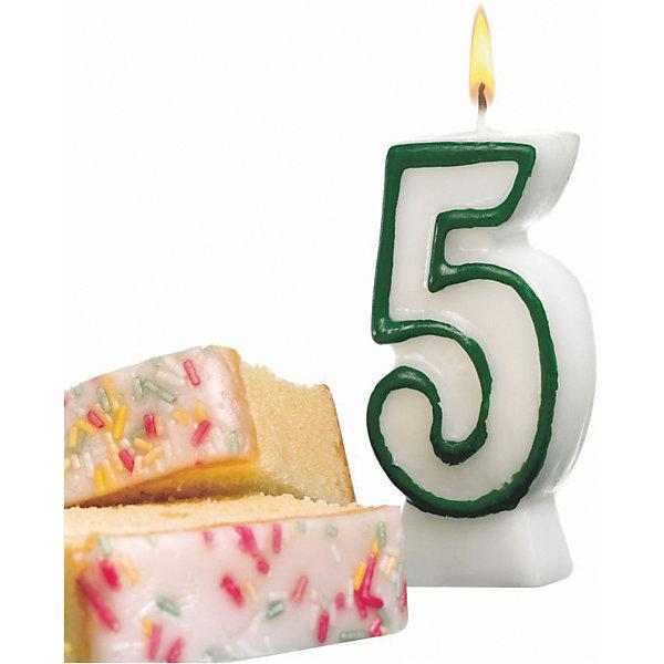 Свеча-цифра 5. асс цв., 8.5см, парафин, блистерДетские свечи для торта<br>Свеча-цифра для торта Susy Card   в виде цифры 5. Изготовлена из высококачественного парафина .Предназначена для декорирования торта к празднику. Можно комбинировать с другими цифрами. Изделие хорошо и долго горит.<br><br>Ширина мм: 18<br>Глубина мм: 90<br>Высота мм: 175<br>Вес г: 39<br>Возраст от месяцев: 36<br>Возраст до месяцев: 2147483647<br>Пол: Унисекс<br>Возраст: Детский<br>SKU: 7139149